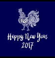 2017 Chinese New Year of the Rooster file vector image
