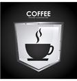 coffee shop design vector image