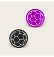 realistic design element ball vector image