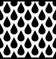 black rain drop seamless pattern background water vector image