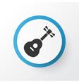 guitar icon symbol premium quality isolated vector image