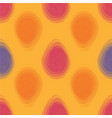 happy easter bright seamless pattern vector image