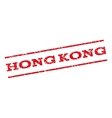 Hong Kong Watermark Stamp vector image