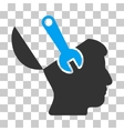 Mind Wrench Surgery Icon vector image