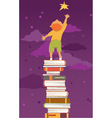 Reading is important vector image vector image