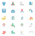 Sports Colored Icon 6 vector image