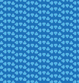 blue diamond background vector image vector image