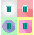 service flat icons 13 vector image