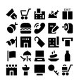 Hotel and Restaurant Icons 2 vector image