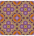 Ornamental round seamless pattern with many vector image vector image