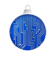 Microprocessor circuitry vector image