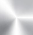 circular brushed aluminum texture vector image