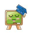 cute blackboard cartoon vector image
