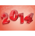 2014 new year design vector image