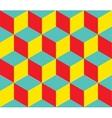 Geometric background Cube shapes Optical vector image