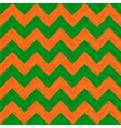 Green and Orange Hippie Pattern vector image