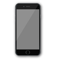 iphone 4 black vector image