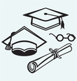 Student accessories vector image vector image