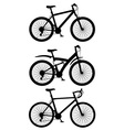 bicycle 15 vector image vector image