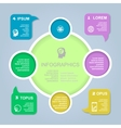 circle color infographic Template for vector image