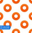 Circle Frame Seamless Background vector image