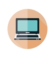 computer flat icon vector image