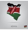country kenya vector image