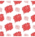 Seamless pattern with fir cones Cute decorative vector image