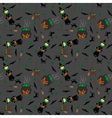 Little Witch pattern vector image