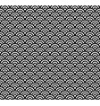 japanese pattern asian wave background vector image