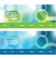 Modern web banners vector image
