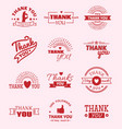 thank you quote slogan citate text message vector image