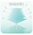Infographics in minimalism Style vector image
