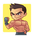 Fitness man vector image vector image
