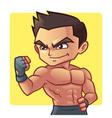Fitness man vector image