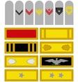 Insignia VS Army of North Carolina vector image vector image