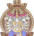 Ganesha a vector image