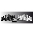 chess series vector image