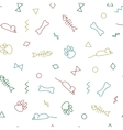 Seamless pattern for card paper scrapbook vector image