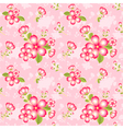Oriental Flower Seamless Pattern vector image vector image