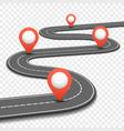 Car road street highway business roadmap vector image