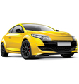 French hot hatch vector image vector image