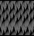 decorative ornamental seamless pattern waves petal vector image
