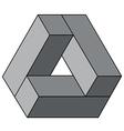 Three dimensional shape vector image