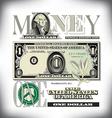 money 1 One Fade BG vector image