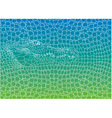 Crocodile abstract background vector image