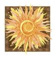 Hand drawn of sun vector image