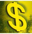 US Dollar vector image vector image