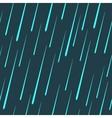 raindrops seamless pattern vector image