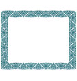 square picture border frame vector image